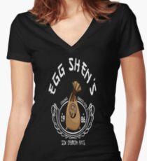 Sechs Dämonentasche Shirt mit V-Ausschnitt