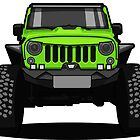 Jeep Wrangler Rubicon SUV by xEver