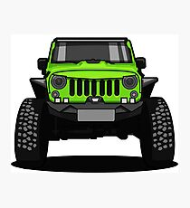 Jeep Wrangler Rubicon SUV Photographic Print