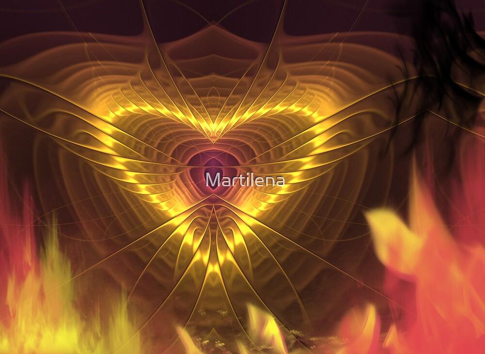 Burning desire by Martilena