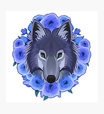 The Wolf Maid Photographic Print
