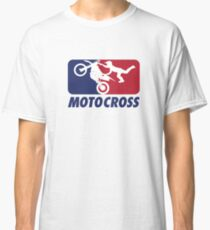 MOTOCROSS BLUE AND RED  Classic T-Shirt
