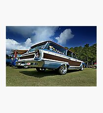 1963 Ford Galaxie Country Squire Wagon Photographic Print