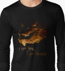 I am fire, I am Death Long Sleeve T-Shirt