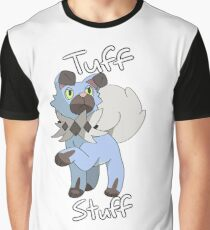 Tuff Stuff Shiny Rockruff Graphic T-Shirt