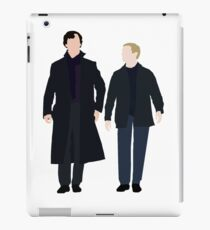 Sherlock and John iPad Case/Skin