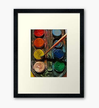 Painting... Framed Print