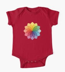 Abstract colorful flower design One Piece - Short Sleeve