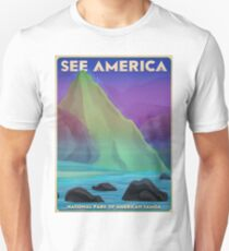 Travel Print Poster – See America (American Samoa National Park) T-Shirt