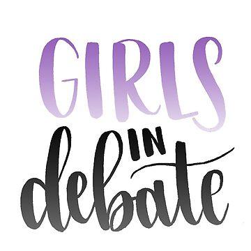 Girls in Debate  by heyitsjelly
