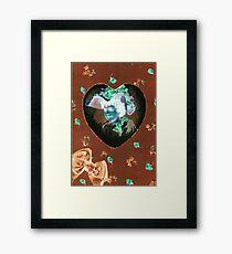 Valentine Girl Framed Print