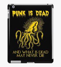 Punk is dead iPad Case/Skin