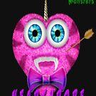 Hearthobe Fluffy Monster by Julianco