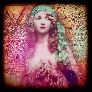 Boho Gypsy by CalicoCollage