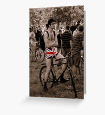 Patriot Games Greeting Card