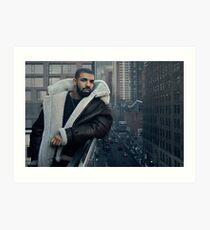 Lámina artística Drake Póster