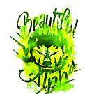 Beautiful Alpha Bad Boy/Girl Green by MandyRosko