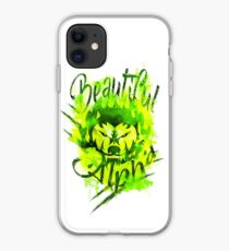 Beautiful Alpha Bad Boy/Girl Green iPhone Case