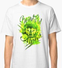 Beautiful Alpha Bad Boy/Girl Green Classic T-Shirt