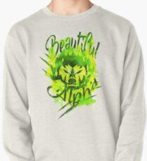 Beautiful Alpha Bad Boy/Girl Green Pullover Sweatshirt