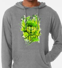 Beautiful Alpha Bad Boy/Girl Green Lightweight Hoodie