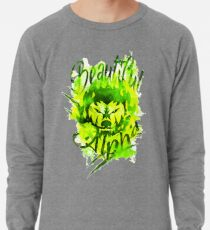 Beautiful Alpha Bad Boy/Girl Green Lightweight Sweatshirt
