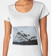 Tree Silhouette  Women's Premium T-Shirt
