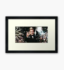 Great Gatsby Poster Framed Print