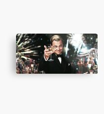 Great Gatsby Poster Metal Print