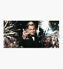 Great Gatsby Poster Photographic Print