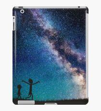 Rick and Morty Galaxy Blue iPad Case/Skin