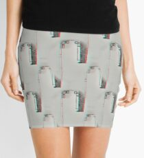 Buildings Mini Skirt