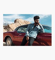 Khalid Poster Photographic Print