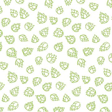 Hop Cone Pattern by jasoncastillo