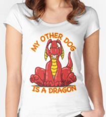 My Other Dog Women's Fitted Scoop T-Shirt