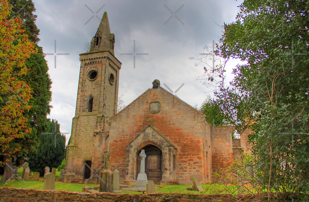 Carriden Old Church III by Tom Gomez
