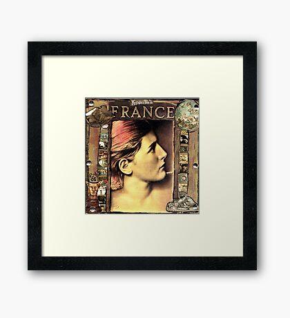 FRANCE (Marianne) Framed Print