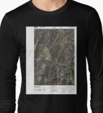 USGS TOPO Map Idaho ID Sloans Point 20110114 TM T-Shirt