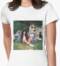 SZA Poster Women's Fitted T-Shirt