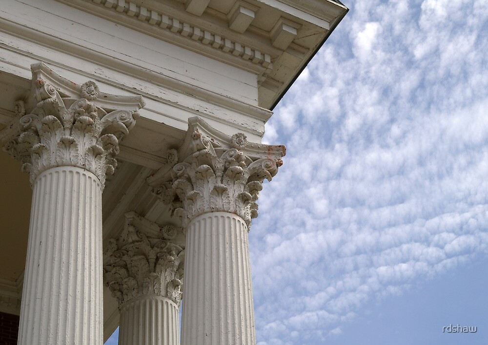 Columns and Sky by rdshaw