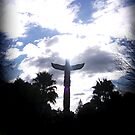 Birds eye view (Gisborne my home) by Rangi Matthews