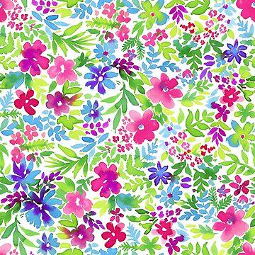 Sweet like candy - ditsy floral by belokrinitski