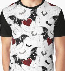 Seamless on Halloween (Vampire hearts) Graphic T-Shirt