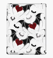 Seamless on Halloween (Vampire hearts) iPad Case/Skin