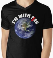 I'M With Her Earth Mother T-Shirt