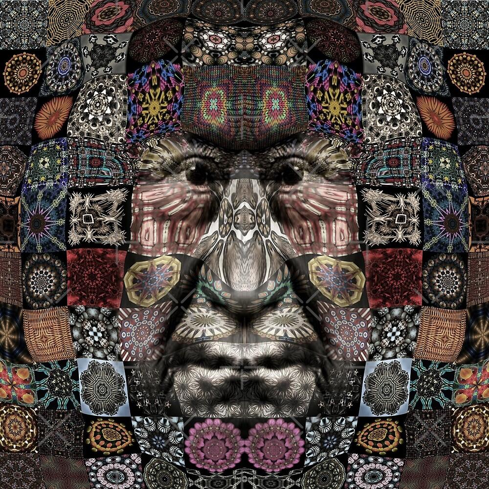 Ka Ka Kaleidoscope, Kaleidoscope Face by Yampimon