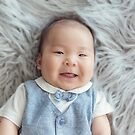 Hayden ~ 3 months by Elaine Harriott