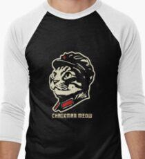 Chairman Meow Men's Baseball ¾ T-Shirt