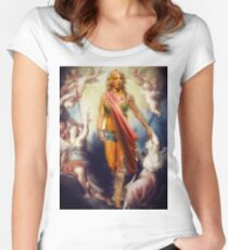 OUR LADY OF KENTWOOD, LOUISIANA Women's Fitted Scoop T-Shirt