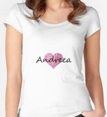Andreea Women's Fitted Scoop T-Shirt